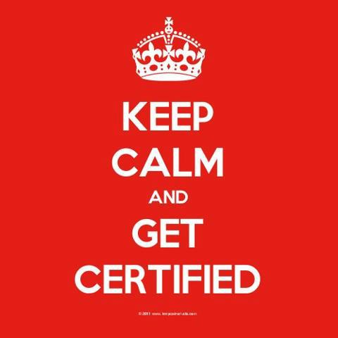 Get Certified