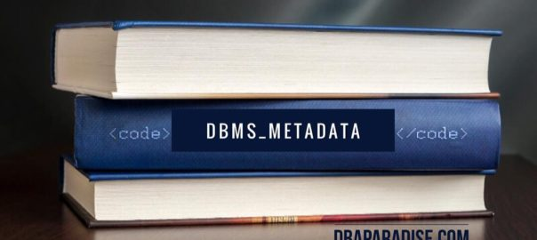 dbms_medata extract user dll, object ddl