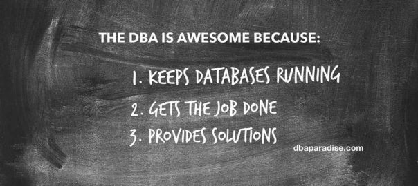 AWESOME DBA